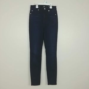 7 for All Mankind The High Waist Skinny 24 #3241